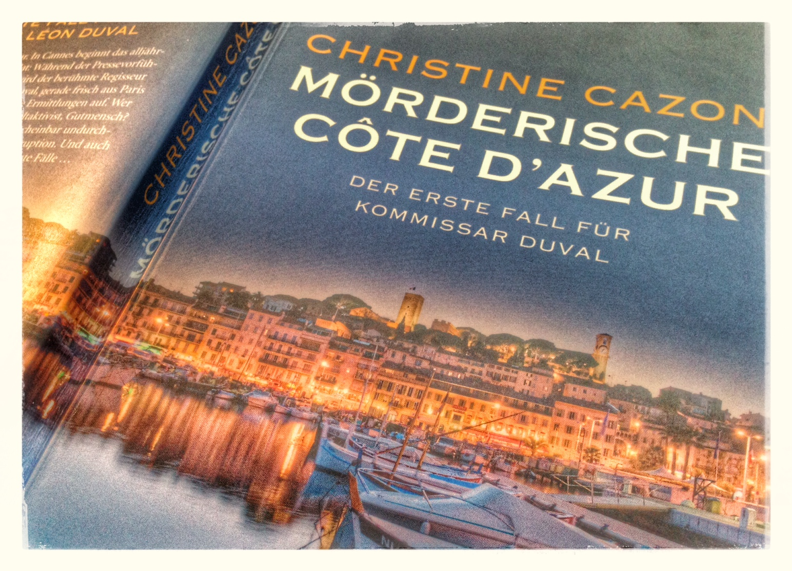 """Buchcover """"Mörderische Cote d'Azur"""""""