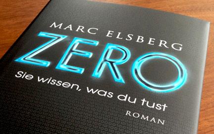 """Buchcover """"ZERO"""" von Marc Elsberg"""
